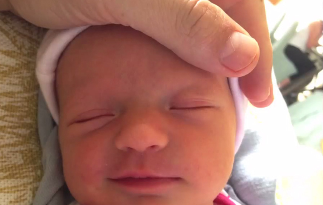 Jimmy Kimmel Shares First Pics of Baby Jane -- See How She Got Her Name