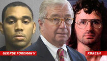 George Foreman's Son Hires David Koresh's Lawyer ... In Domestic Violence Case