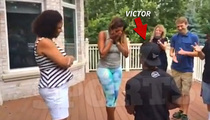 NFL Star Victor Cruz -- SNEAK ATTACK MARRIAGE PROPOSAL ... Caught on Video