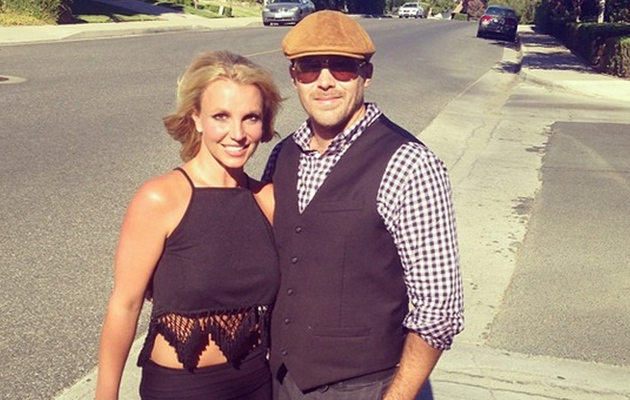 Britney Spears Shows off Skinny Waist on Date Night With David Lucado