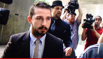 Shia LaBeouf -- I'm Ready to Cop a Plea in My Musical Melee Trial