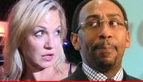Michelle Beadle -- Rips ESPN Colleague Stephen A. Smith Over Domestic Violence Comments