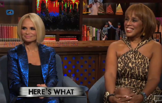 Kristin Chenoweth & Gayle King Say They've Never Had Interracial Sexual…