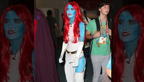 Audrina Patridge -- Please Love Me, Nerds … Working Blue at Comic-Con