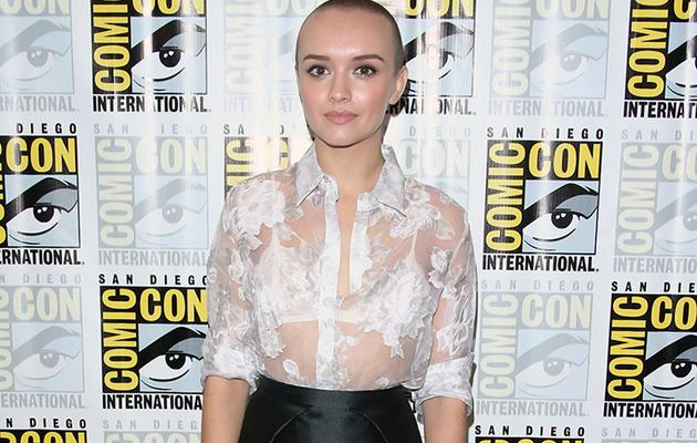 """Bates Motel"" Star Olivia Cooke Debuts Buzzed Head at Comic-Con"