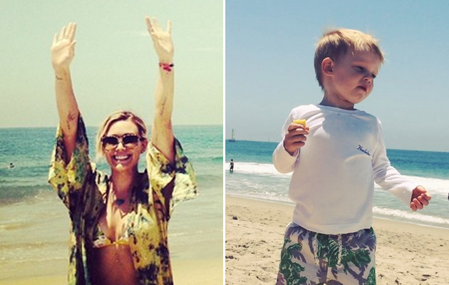 "Hilary Duff's Son Luca Dances to ""Chasing the Sun"" -- See the Cute Video!"