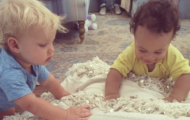 Jessica Simpson's Son Ace Plays With CaCee Cobb's Son Rocco -- See the Cute Pic!