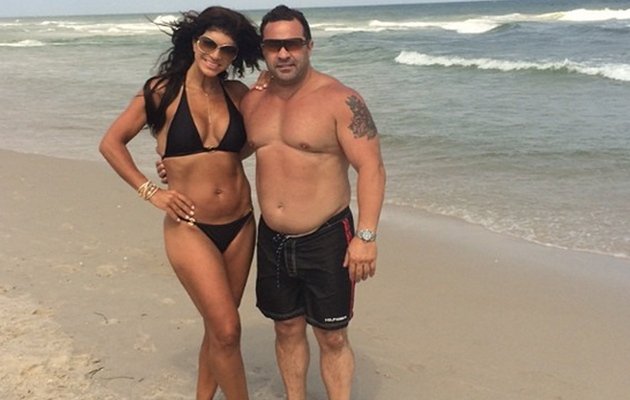 Teresa Giudice Posts Bikini Pictures With Hubby Joe and Daughter Gia