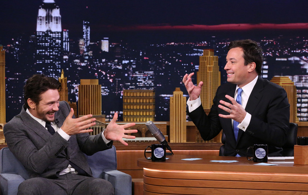 "James Franco & Jimmy Fallon Play ""5-Second Movie Summaries"" -- Watch Funny Clip!"