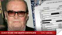 James Garner -- Cause of Death ... Fatal Heart Attack