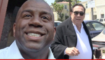 Magic Johnson On Donald Sterling Ruling ... I'M ALL SMILES!