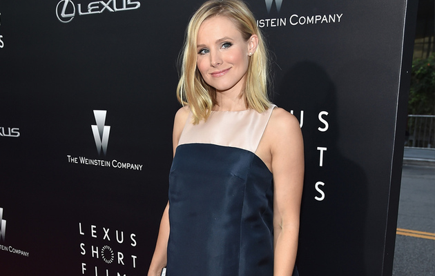 Kristen Bell Shows Off Tiny Baby Bump At Lexus Short Films Event