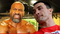 Ex Boxing Champ Shannon Briggs -- Eats Wladimir Klitschko's Food, Ends Up in Emergency Room