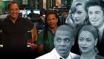 TMZ Live: Jay Z & Beyonce: What Marriage Trouble? Look at Us, We're Fine!
