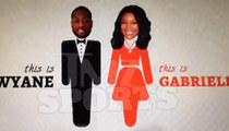 Dwyane Wade & Gabrielle Union -- 'Save the Date Video' ... Gets Hollywood Treatment