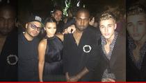Justin Bieber -- Styling and Profiling With Kim Kardashian and Kanye ... ORLANDO BLOOM DENIED!