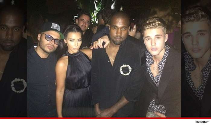 justin bieber styling and profiling with kim kardashian