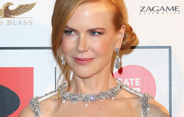 Nicole Kidman Goes Brunette -- See Her Shaggy New 'Do!