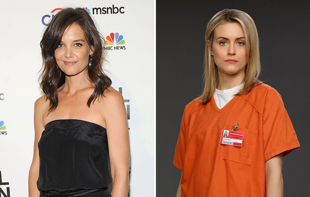 "What? Katie Holmes Was Almost Cast As Piper in ""OITNB"""