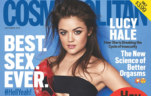 See Why Lucy Hale's Dad Doesn't Love Her New Cosmo Cover