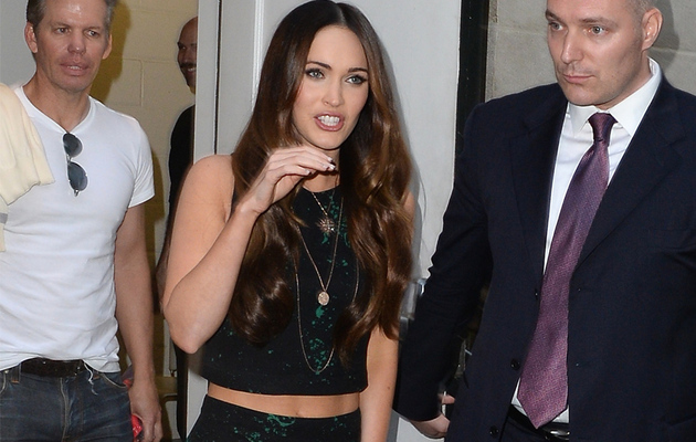 Megan Fox Flaunts Toned Abs, Reveals Post-Baby Diet