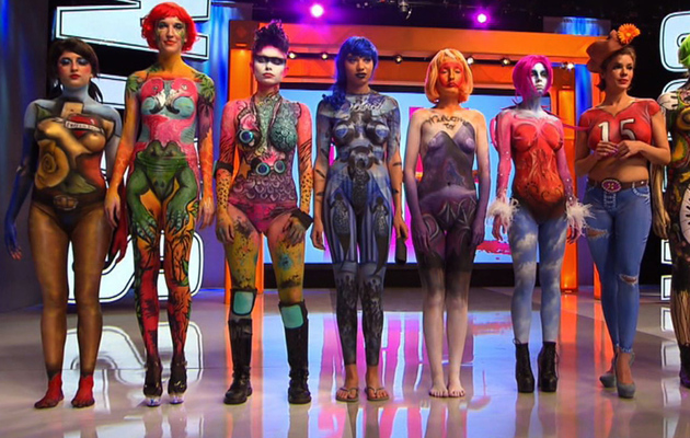 New Reality Show Highlights Crazy Impressive World of Body Painting