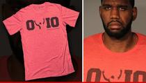 Greg Oden Arrest -- Mug Shot Creates T-Shirt Frenzy!!