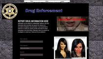 Kim Kardashian -- Terrible Meth Face Warns Tennessee Sheriff Dept.