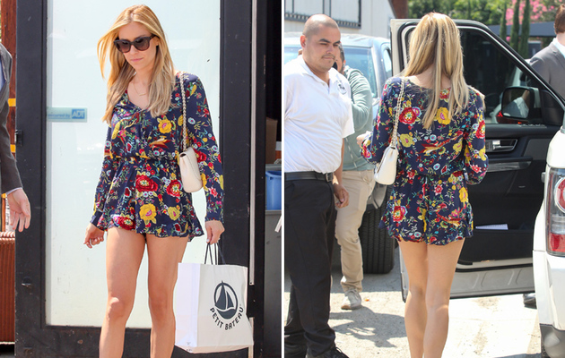 Kristin Cavallari Puts Killer Legs on Display In Super Short Romper