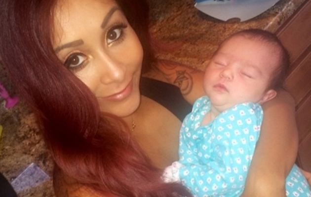 Snooki Posts New Photos of JWoww's Daughter Meilani -- And She's So Cute!