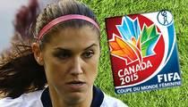 U.S. Women's Soccer Star Alex Morgan -- FIFA Is Treating Women Like Second Class Citizens