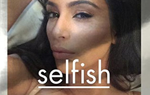 Kim Kardashian Releasing a Book of Selfies, Because of Course She Is