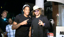 NBA Star DeMar DeRozan -- Takes Birthday Pic with Johnny Depp ... Impersonator