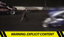 Tony Stewart -- Hits and Kills Another Driver During Dirt Track Race