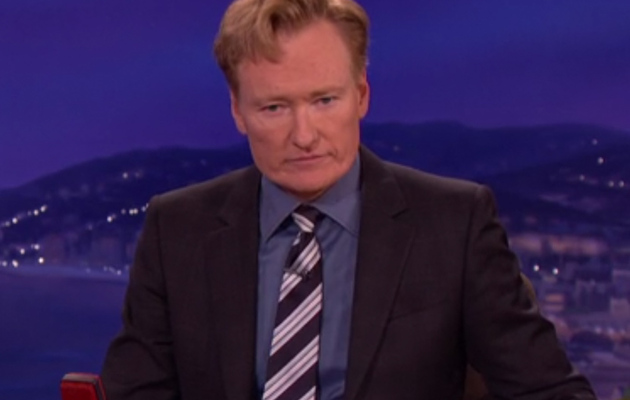Conan O'Brien Reacts to Robin Williams' Death During Show Taping