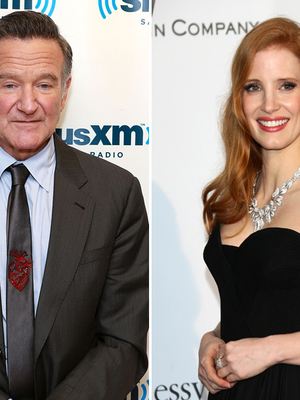 Jessica Chastain Reveals How Robin Williams Changed Her Life