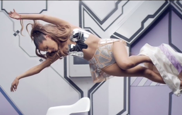 "Ariana Grande Shows MAJOR Skin in ""Break Free"" Music Video"