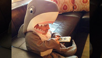 Verne Troyer -- Takes Shark Week a Little Too Seriously