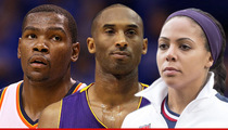 Kobe Bryant and Kevin Durant -- We Got U.S. Women's Backs ... In FIFA World Cup Turf War