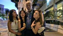 Morgan Freeman -- Now You See Me ... Flirt With These Girls