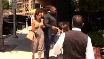 Michael Strahan, Nicole Murphy ... TOGETHER AGAIN!!!  'Possibility' of Reconciliation