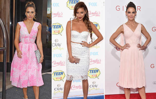 Jessica, Shay & More -- See This Week's Best Dressed Stars!