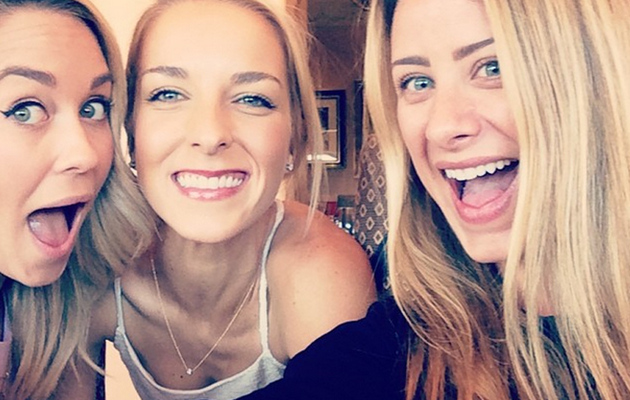 "Lauren Conrad Reunites With ""Laguna Beach"" Pals at Friend's Wedding"