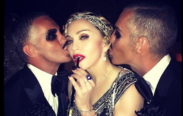 Madonna Celebrates 56th Birthday With Roaring '20s Bash -- See Her Kids in Costume!