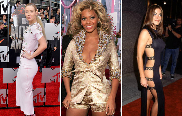 Iggy, Beyonce, Carmen & More -- See The Wildest Fashions of VMA's Past!