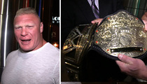 Brock Lesnar -- The NEW Champ is Here