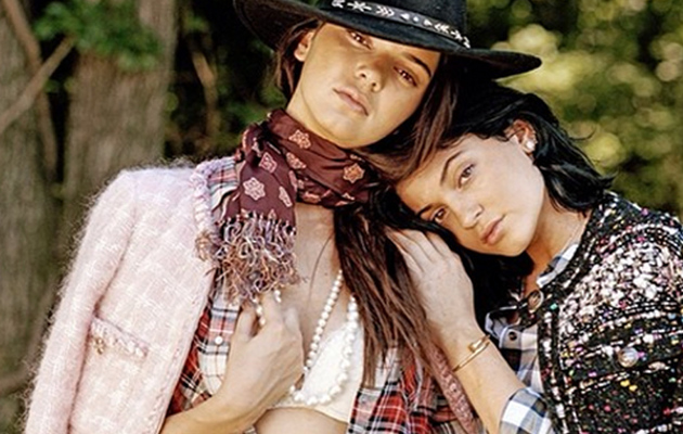 Kendall and Kylie Jenner Pose with Hunky Male Models in DuJour -- See the Pics!