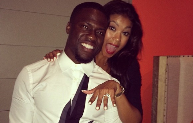 Kevin Hart Engaged to Eniko Parrish -- See The Ring!