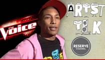 "Pharrell Williams -- I Got ""The Voice"" ... And You Want Me to Do YouTube?  Seriously?"