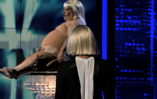 "Sia Talks Strange Song Writing, Performs ""Chandelier"" With Chuy!"